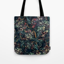 Skulls and Snakes Tote Bag