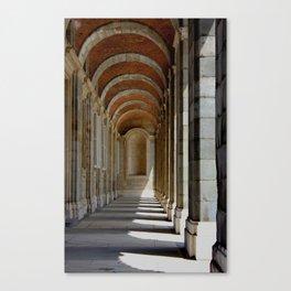 Madrid Royal Palace - Spain Canvas Print