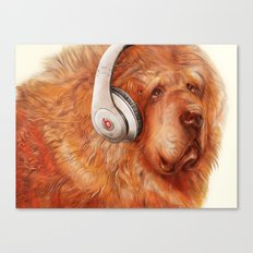 Music Therapy Canvas Print