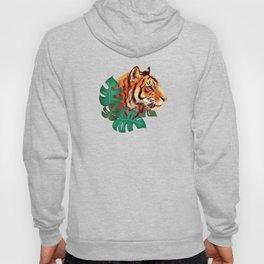 Monstera Tiger Hoody