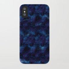 Blue space iPhone X Slim Case