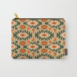 Ethnic shapes in circles Carry-All Pouch