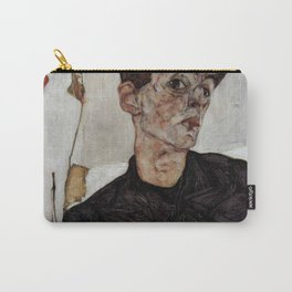 Egon Schiele , self-portrait Carry-All Pouch