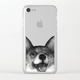 Corgi Clear iPhone Case