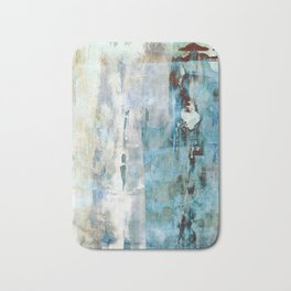 Abstracted Layers Bath Mat