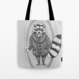 Morning -- Black and White Variant Tote Bag