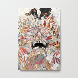KN/PC: Infinite Jest Metal Print