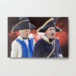 French historical army Metal Print