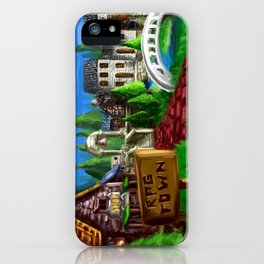 RPG Town iPhone Case