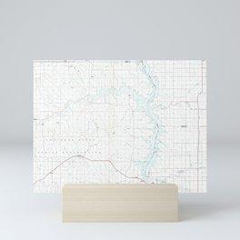SD La Plant 344687 1985 topographic map Mini Art Print
