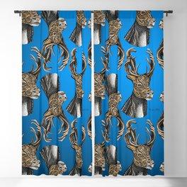 Reindeer (Caribou) Pattern Blackout Curtain
