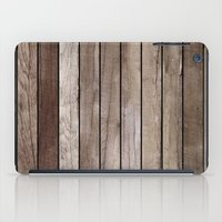 wooden iPad Cases featuring Wooden Texture by Patterns and Textures