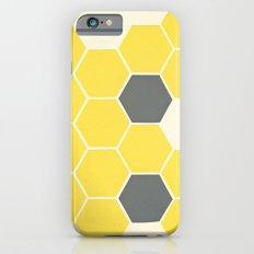 Yellow Honeycomb iPhone 6 Slim Case
