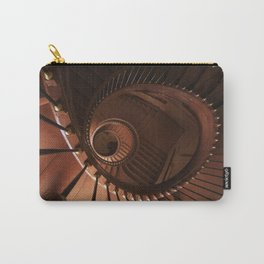 Spiral staircase in browns Carry-All Pouch