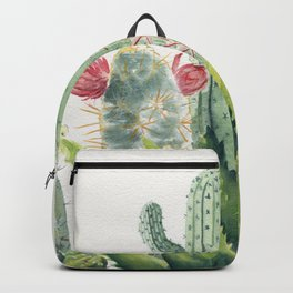 Cactus Watercolor Backpack
