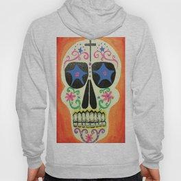 Orange Skull Hoody