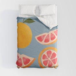 Calming Fruit Series Grapefruit Comforters