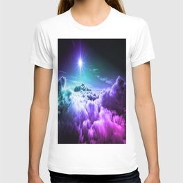 Cool Tone Ombre Clouds T-shirt