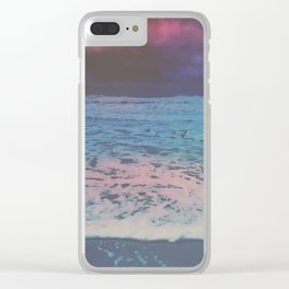 WHALE TO NOTHING Clear iPhone Case
