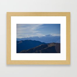 California Mountains Framed Art Print