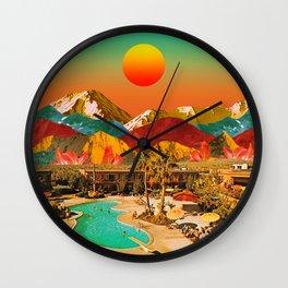 Shining summer Wall Clock
