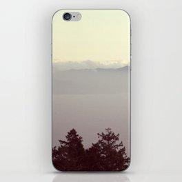 Pastel Skyline | Landscape Photo iPhone Skin
