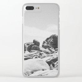 JUMBO ROCKS / Joshua Tree National Park Clear iPhone Case