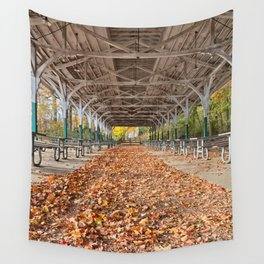 North Point Trolley Pavilion Wall Tapestry
