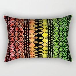 One Love Tribal {black} Rectangular Pillow