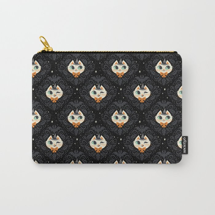 Witchy Kitty Carry-All Pouch