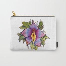 Vulva Flora Carry-All Pouch