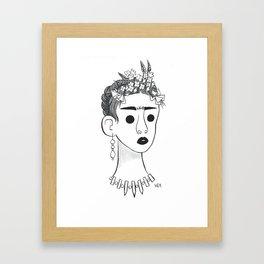 Frieda Framed Art Print