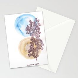 24 // Abstract 9 March 2017  | Abstract Shapes Art Colour Stationery Cards