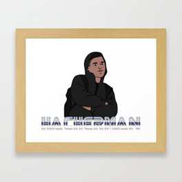 hackerman Framed Art Print