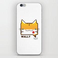 Convo Cats! Wally iPhone & iPod Skin