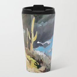 Sonoran Desert Storm Travel Mug