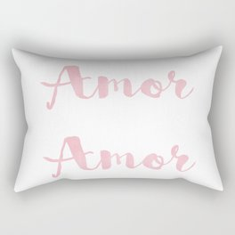 Amor Amor Amor Rectangular Pillow