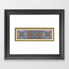 Garden of Jewels Framed Art Print