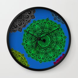 My Angel Spirit Mandhala | Secret Geometry Wall Clock