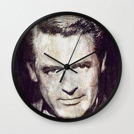 Idols - Cary Grant Wall Clock