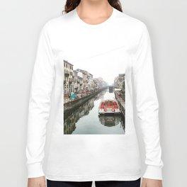 Milano Navigli - Italy Long Sleeve T-shirt
