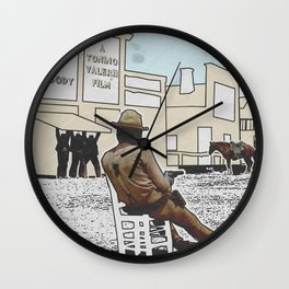 MY NAME IS NOBODY Wall Clock
