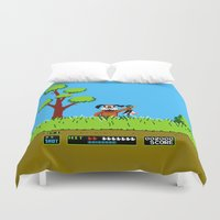 gameboy Duvet Covers featuring Gameboy by Janismarika