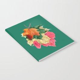 Autumn Leaf Stack Notebook