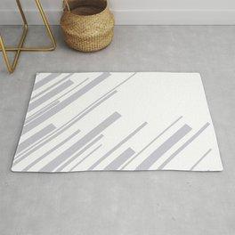 Diagonals - Grey Rug