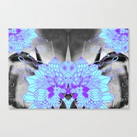 geode Canvas Prints featuring Geode 1 by michiko_design