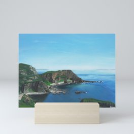 Islay Scotland Oil on Canvas Mini Art Print
