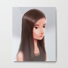 ordinary girl  Metal Print