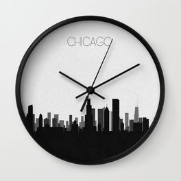 City Skylines: Chicago Wall Clock