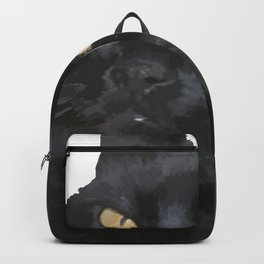 Behind Every Great Person There Is A Great Cat Backpack